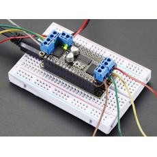 DC Motor + Stepper FeatherWing Add-on